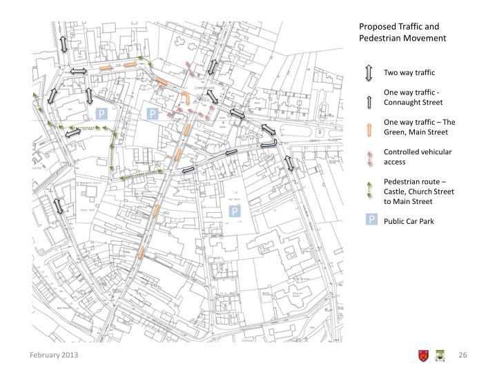 Proposed Traffic and Pedestrian Movement
