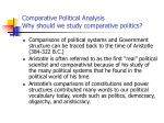 comparative political analysis why should we study comparative politics