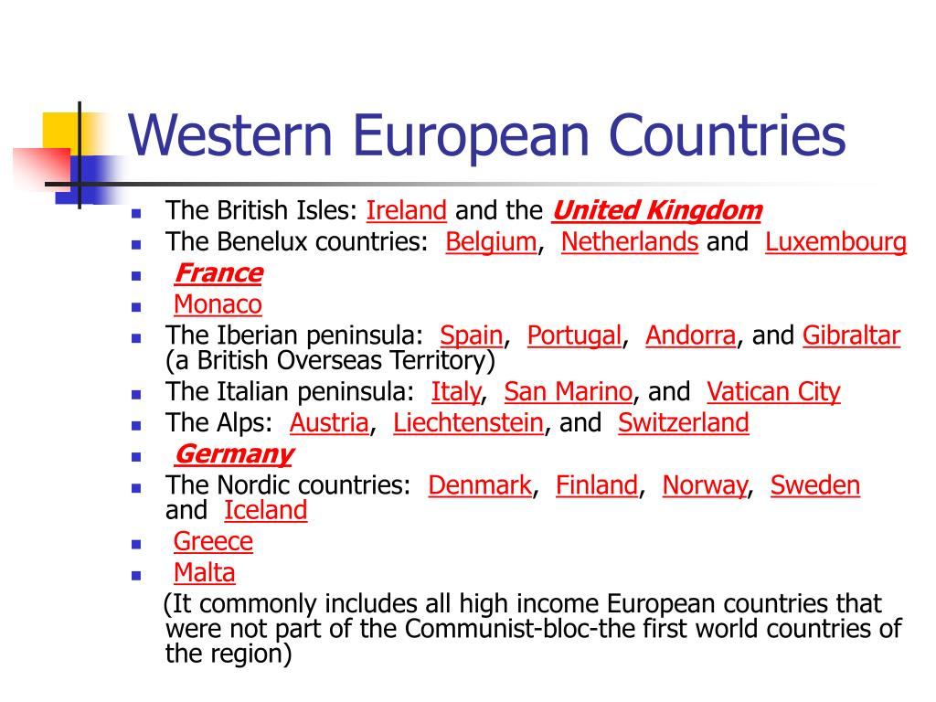 Western European Countries