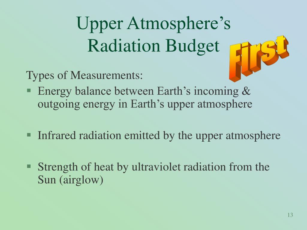 Upper Atmosphere's