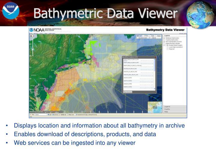 Bathymetric Data Viewer