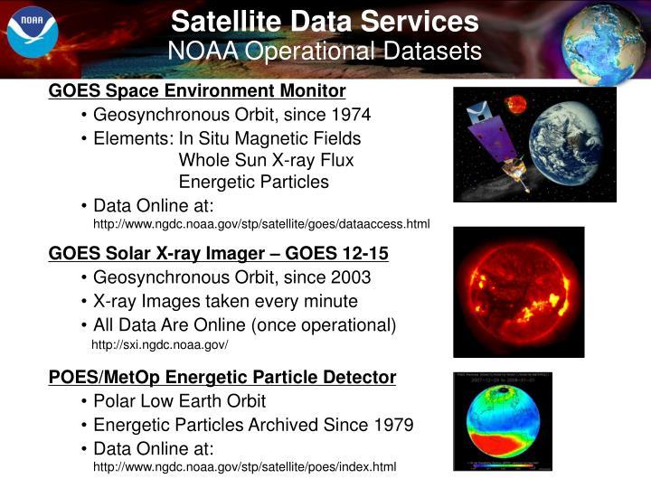 Satellite Data Services