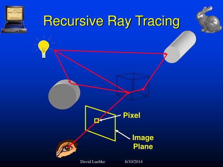 Recursive Ray Tracing