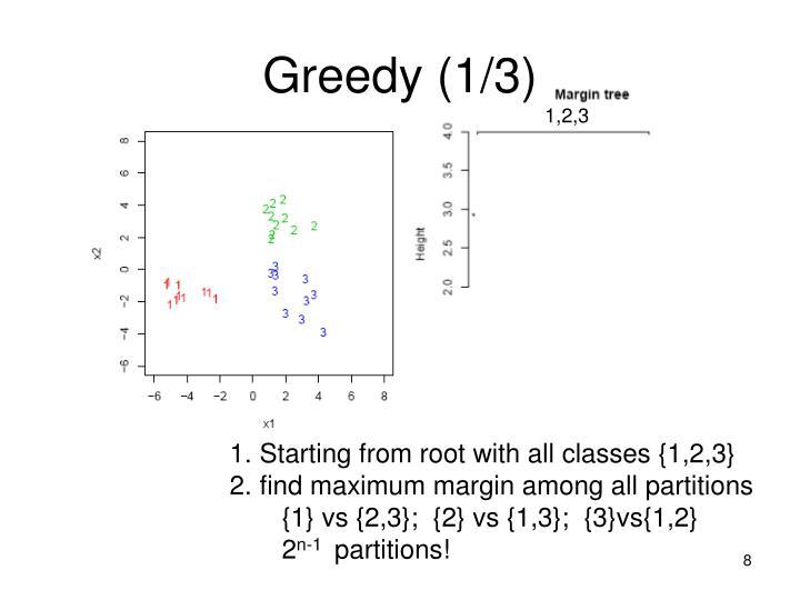 Greedy (1/3)
