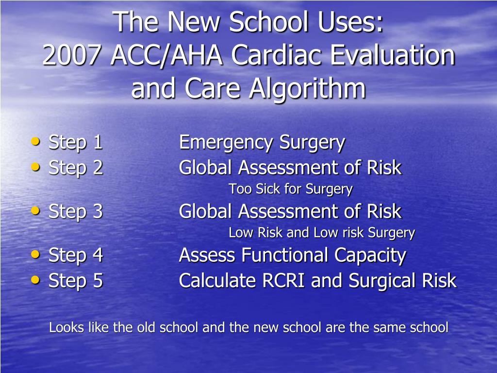 The New School Uses: