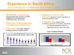 experience in south africa since introduction of national credit act in 2006