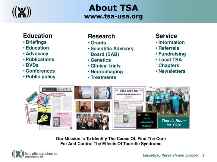 About TSA