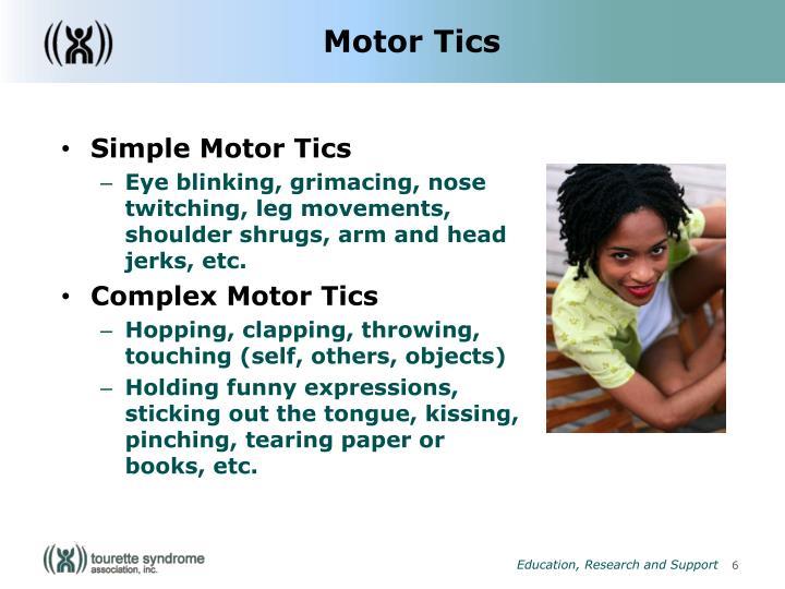 Motor Tics