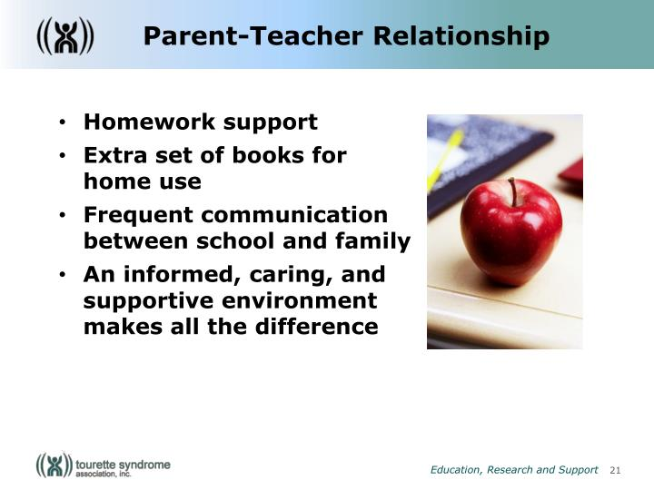 Parent-Teacher Relationship
