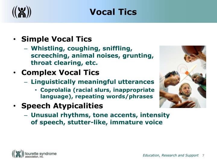 Vocal Tics