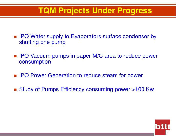 IPO Water supply to Evaporators surface condenser by shutting one pump