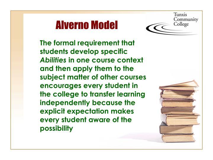 Alverno Model