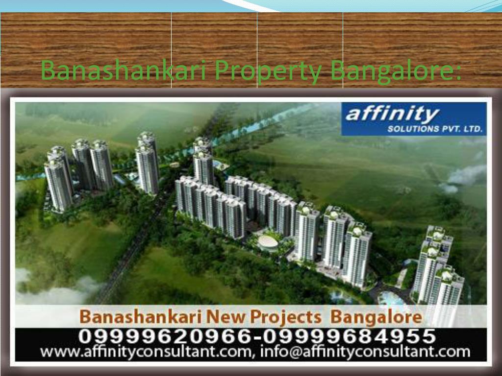 Banashankari Property Bangalore:
