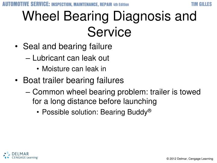 Wheel Bearing Diagnosis and Service