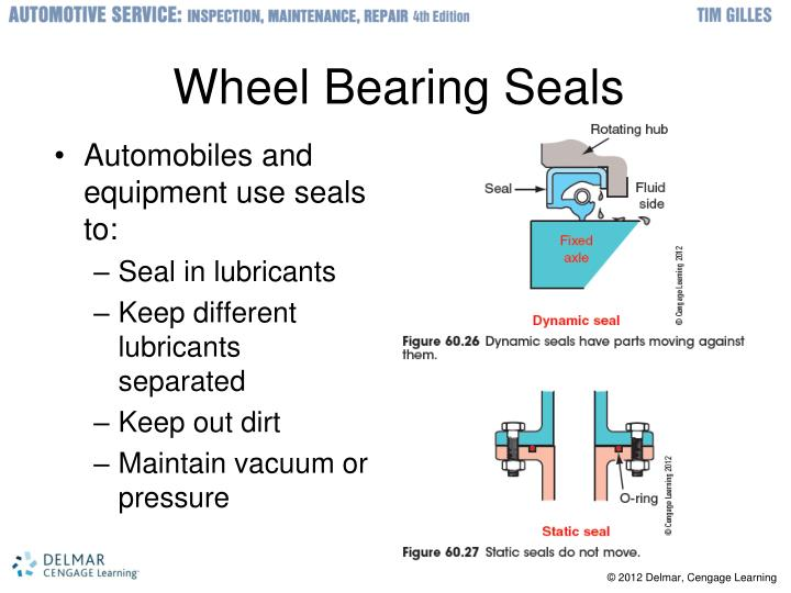 Wheel Bearing Seals