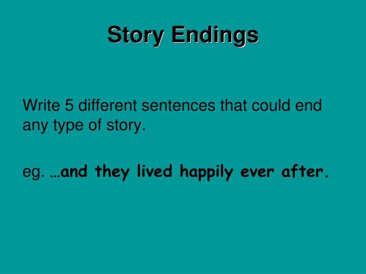 Story Endings