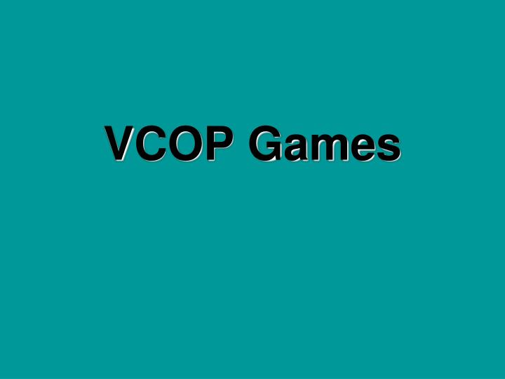 Vcop games