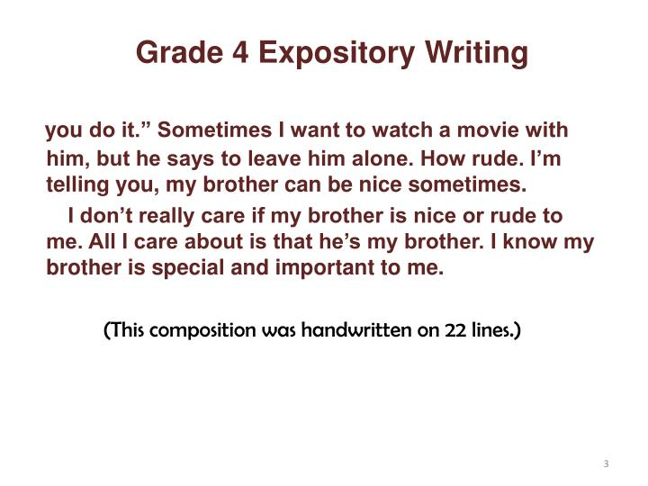 powerpoint on how to write an expository essay