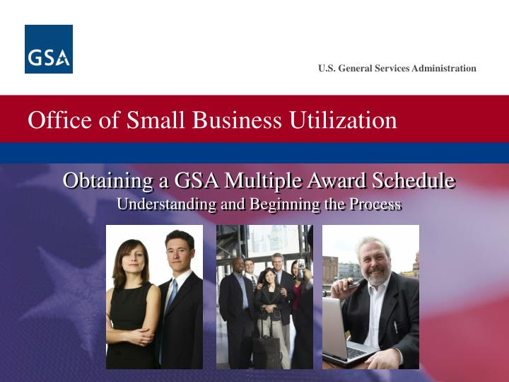 Obtaining a GSA Multiple Award Schedule