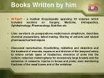 books written by him1