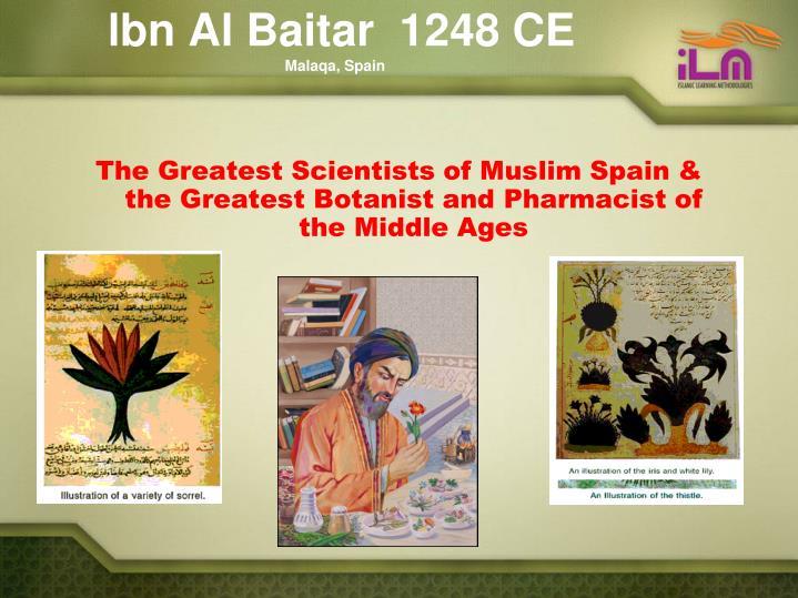 lbn Al Baitar  1248 CE