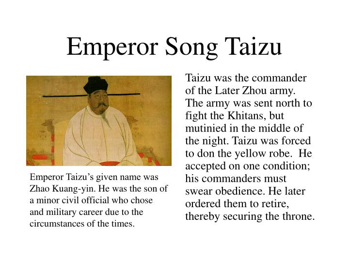 Emperor Song Taizu