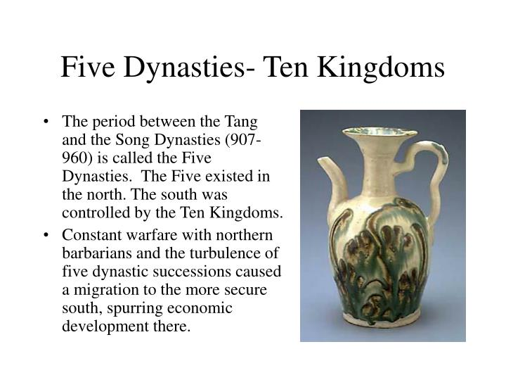 Five dynasties ten kingdoms