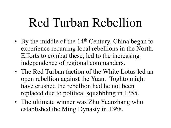 Red Turban Rebellion