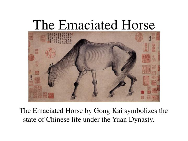 The Emaciated Horse