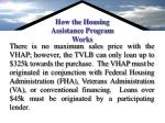 how the housing assistance program works1