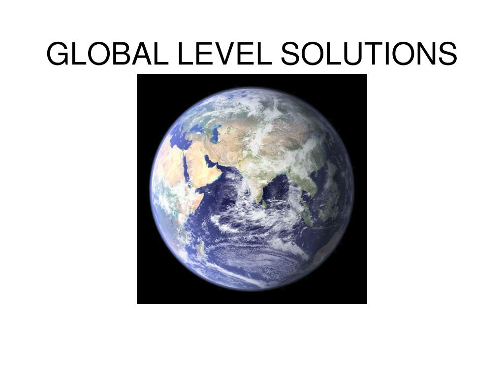 GLOBAL LEVEL SOLUTIONS