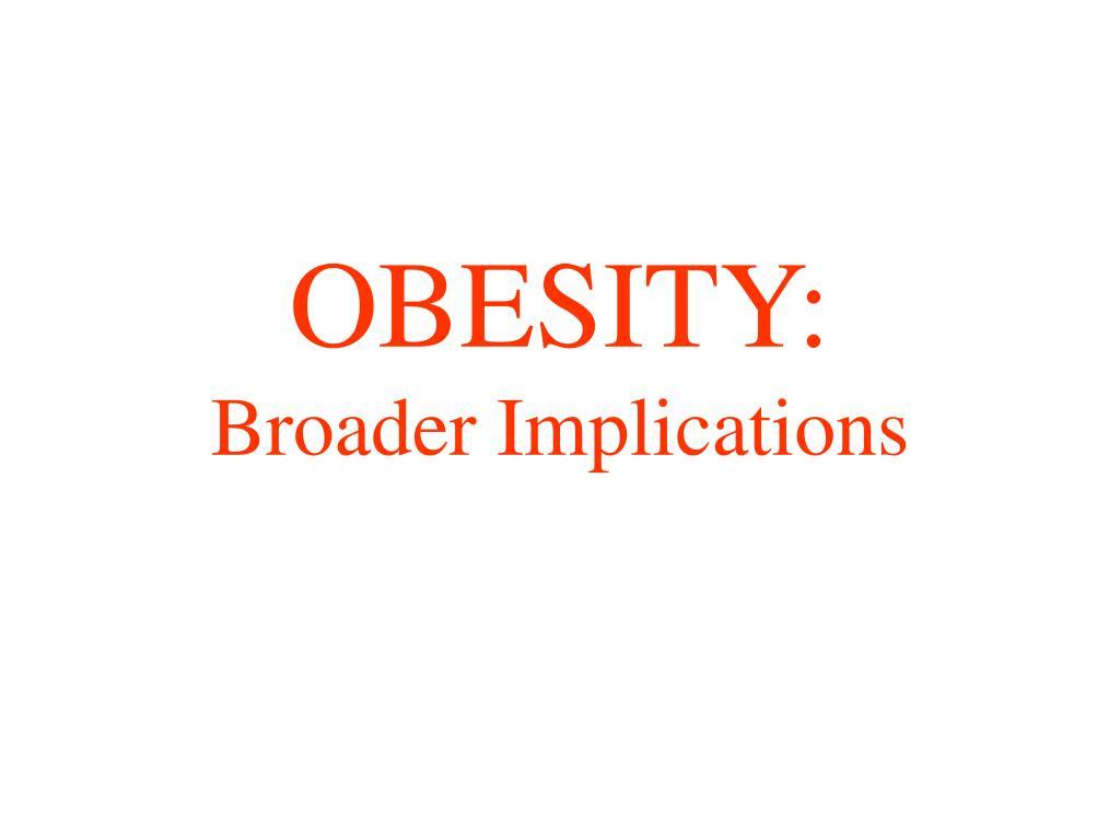 OBESITY: