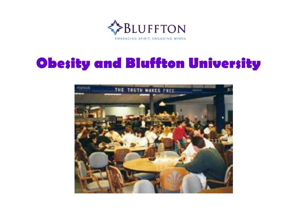 Obesity and Bluffton University