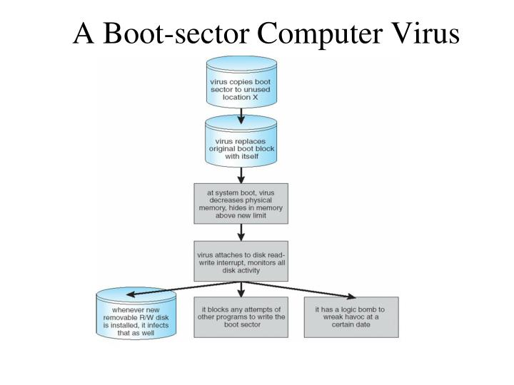 A Boot-sector Computer Virus