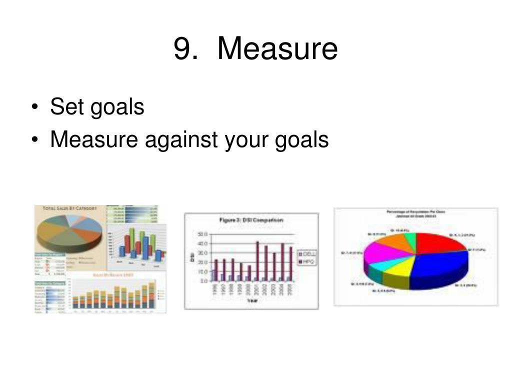 9.  Measure