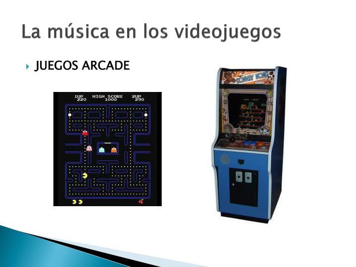 La música en los videojuegos