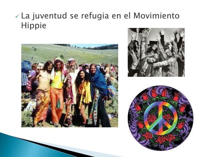 La juventud se refugia en el Movimiento Hippie