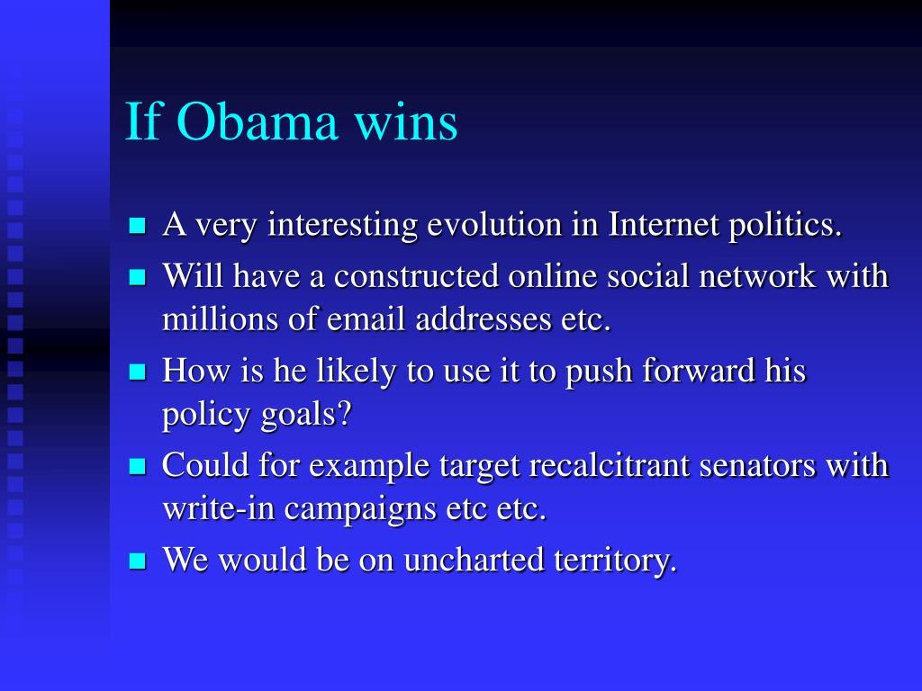 If Obama wins