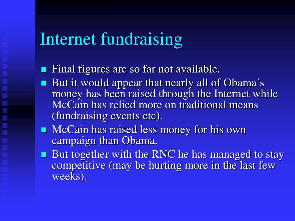 Internet fundraising