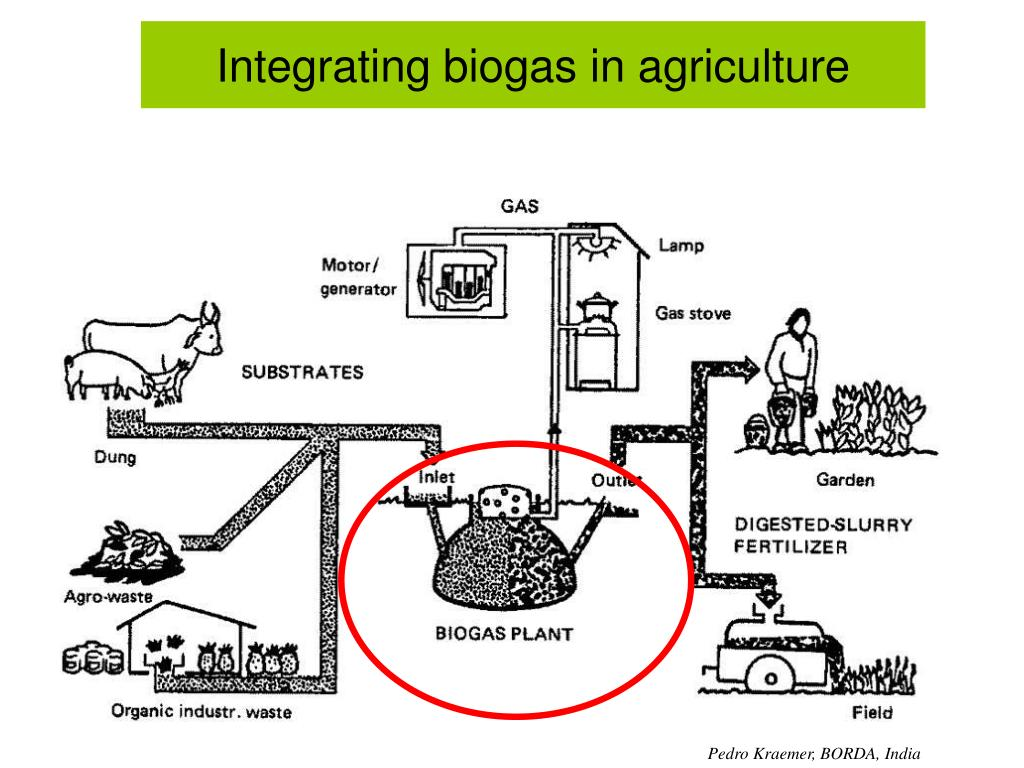Integrating biogas in agriculture