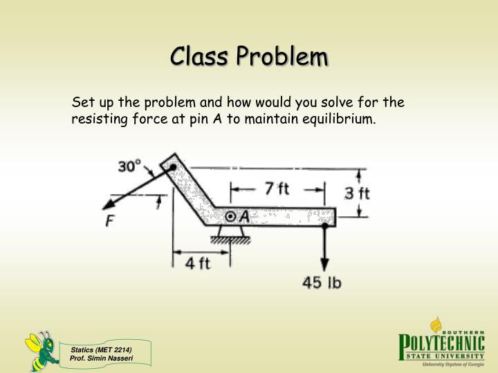 Class Problem
