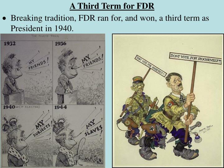 A Third Term for FDR