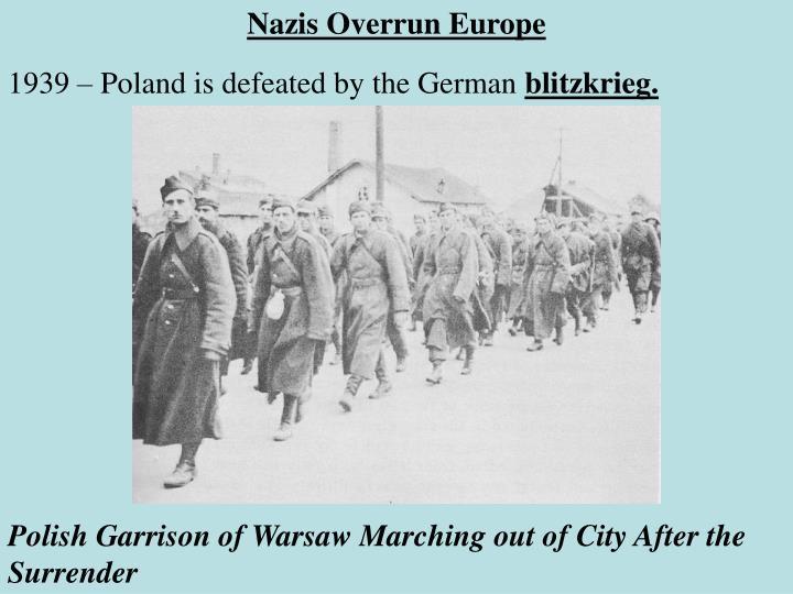 Nazis Overrun Europe