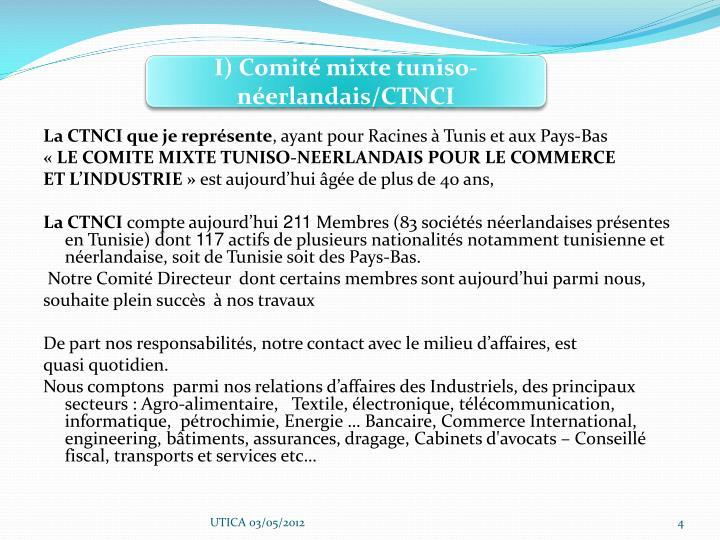 I) Comité