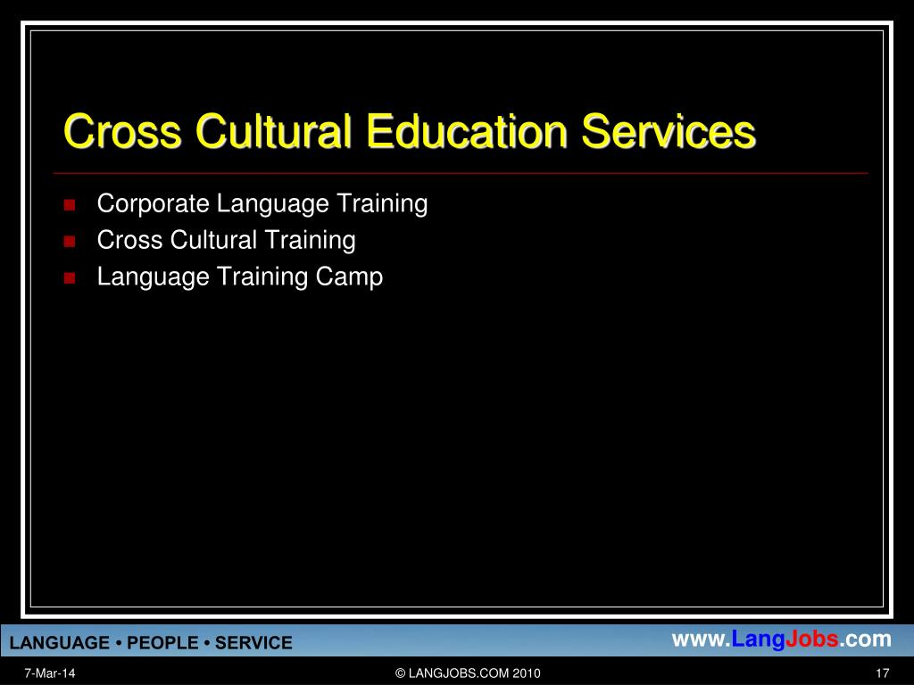 Cross Cultural Education Services