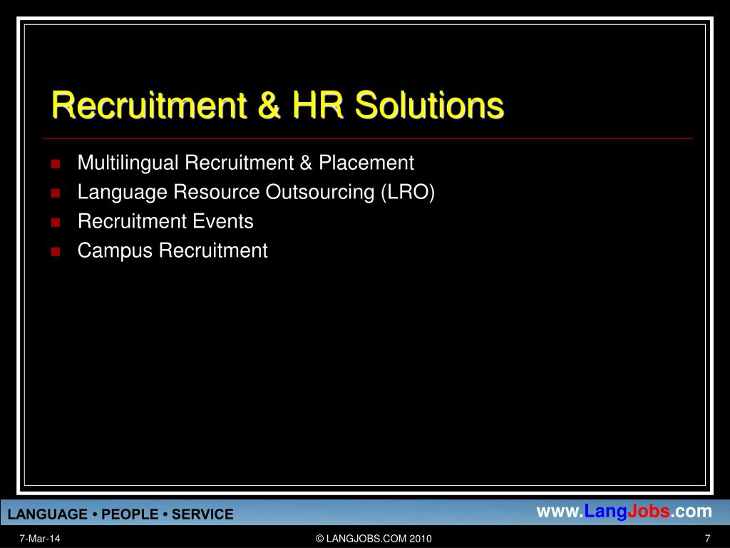 Recruitment & HR Solutions