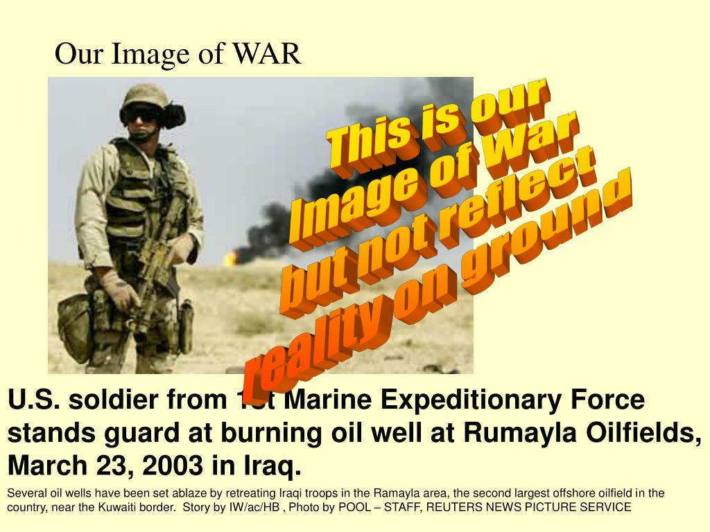 Our Image of WAR