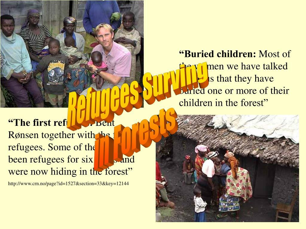 """""""Buried children:"""