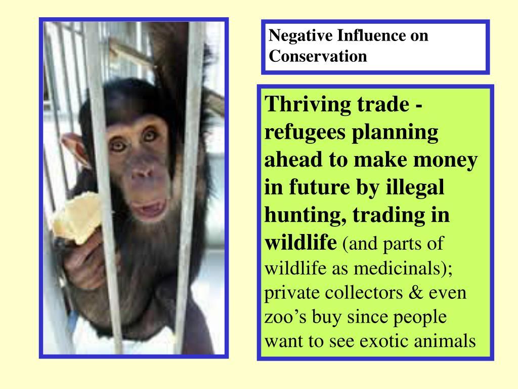 Negative Influence on Conservation