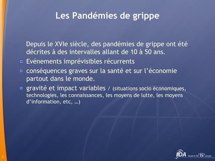 Les Pandémies de grippe